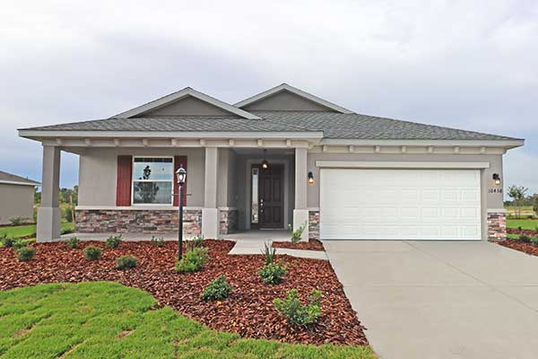 Juliana Move in ready home at On Top of the World Communities Ocala FL