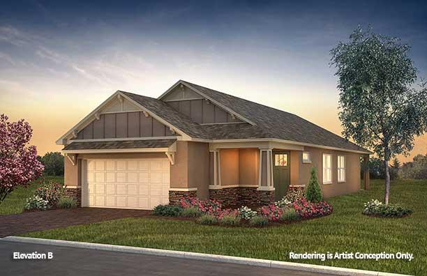 Retirement Floor plans. On Top of the World Retirement Communities Florida Rimon Floor plan Cottage Series Rimon B