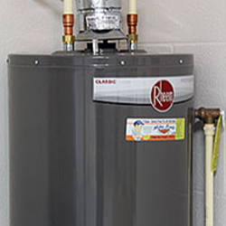 40 Gallon Gas Hot Water Heater - Energy Efficient Construction Methods at On Top of the World Communities