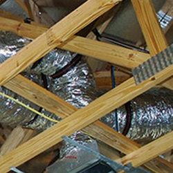AC Supply Line Hanging Straps - A Better Built by On Top of the World Communities