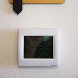 Digital Programmable Thermostat - Energy Efficient Construction Methods at On Top of the World Communities