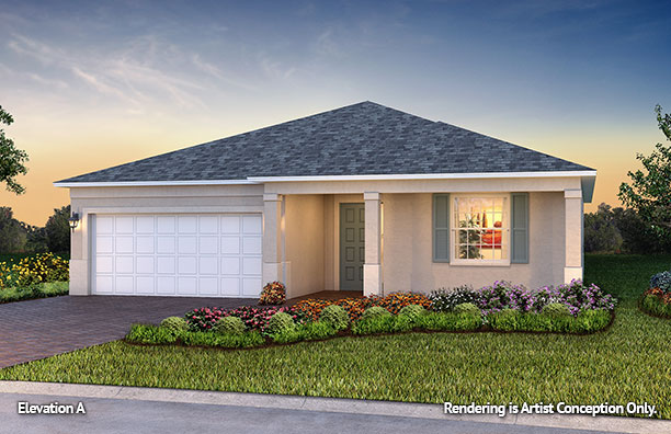 On Top of the World Communities Ocala FL Floor plans Classic Series Ginger A retirement