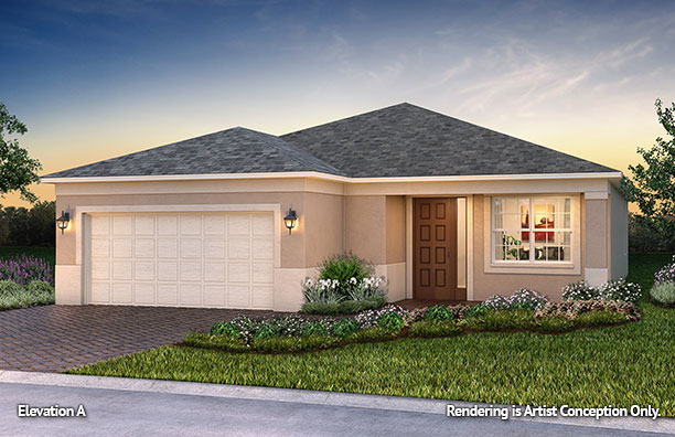 On Top of the World Communities Ocala FL Floor plans Classic Series Orchid A retirement