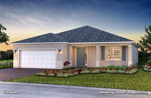 On Top of the World Communities Ocala FL Floor plans Classic Series Wisteria A retirement