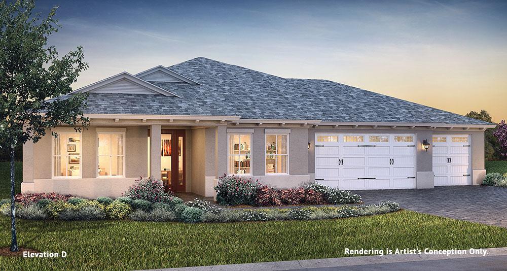 On Top of the World Communities Ocala FL Floor plans Estate Series Arlington D retirement