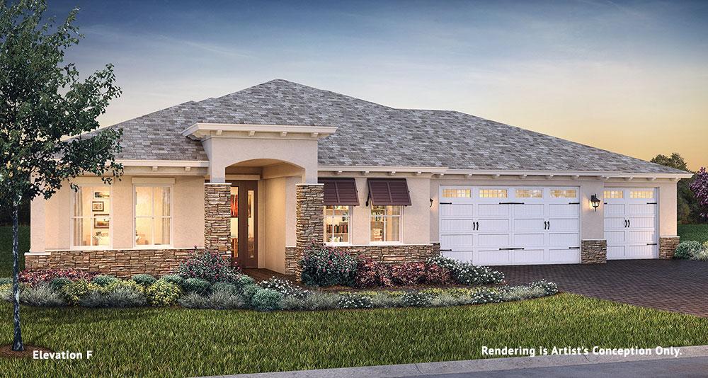 On Top of the World Communities Ocala FL Floor plans Estate Series Arlington F retirement