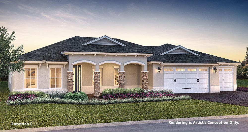 On Top of the World Communities Ocala FL Floor plans Estate Series Brighton E retirement