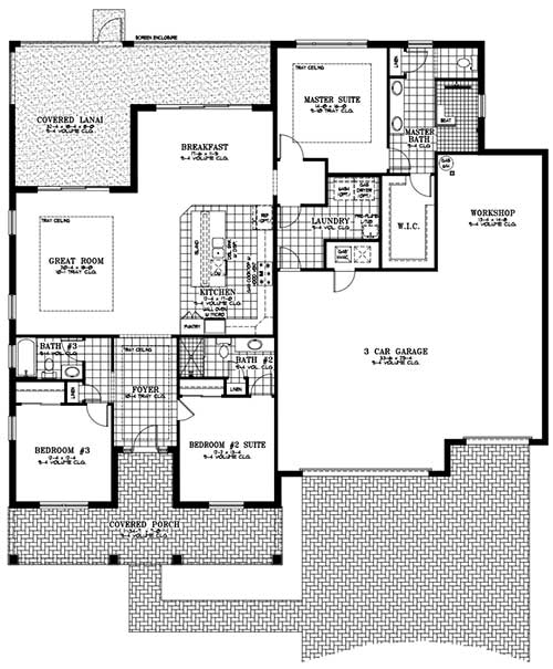 On Top of the World Communities Ocala FL Floor plans Estate Series Arlington retirement