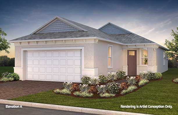 On Top of the World Communities Ocala FL Floor plans Cottage Series Elon A retirement