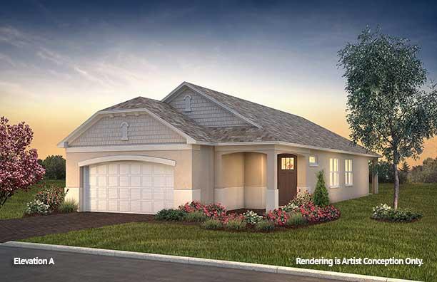 On Top of the World Communities Ocala FL Floor plans Cottage Series Rimon A retirement