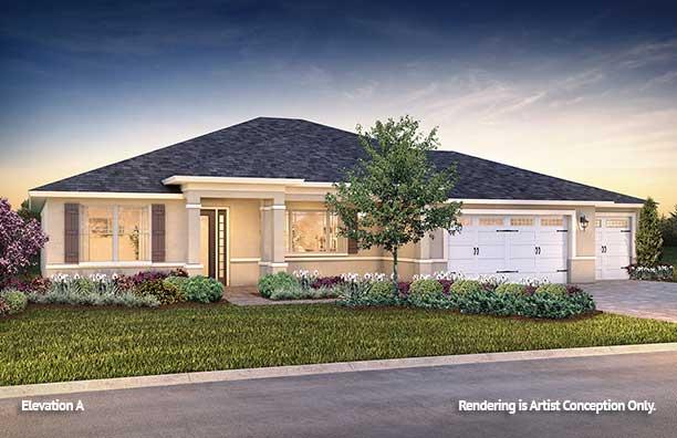 On Top of the World Communities Ocala FL Floor plans Estate Series A Brighton