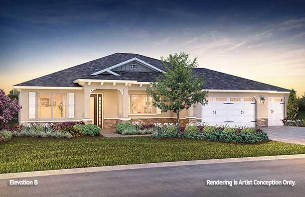 On Top of the World Communities Ocala FL Floor plans Estate Series B Brighton