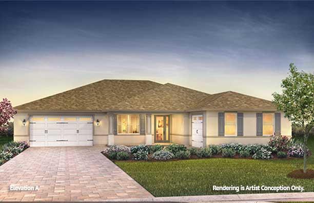 On Top of the World Communities Ocala FL Floor plans Estate Series A Dunbar