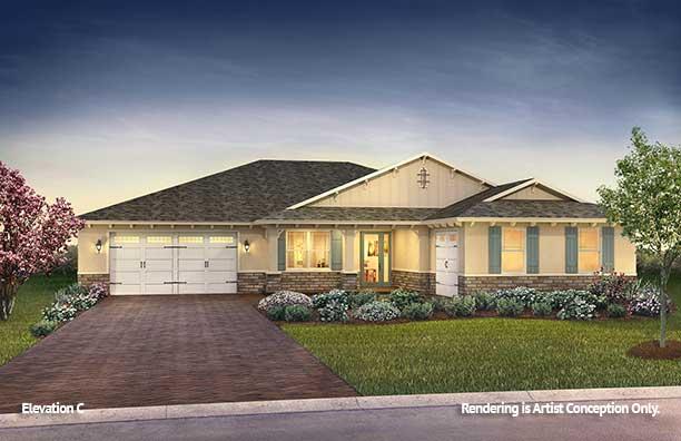 On Top of the World Communities Ocala FL Floor plans Estate Series C Dunbar
