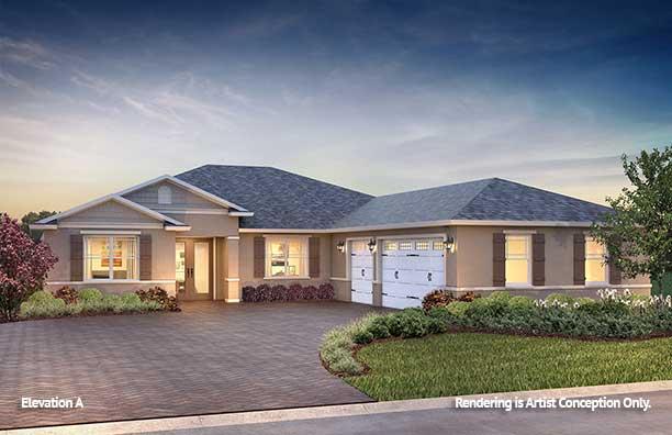 On Top of the World Communities Ocala FL Floor plans Estate Series A Northampton
