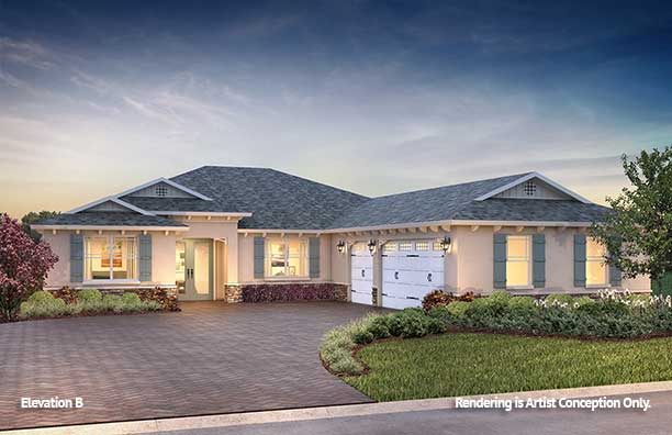 On Top of the World Communities Ocala FL Floor plans Estate Series B Northampton