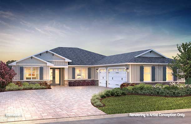 On Top of the World Communities Ocala FL Floor plans Estate Series C Northampton