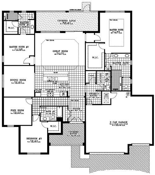 On Top of the World Communities Ocala FL Floor plans Estate Series Wellington