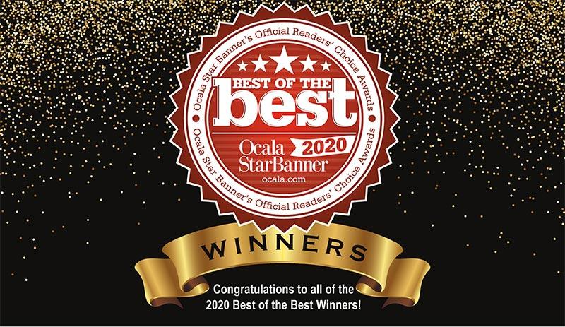 On Top of the World Communities 2020 Best of the Best Award Winner
