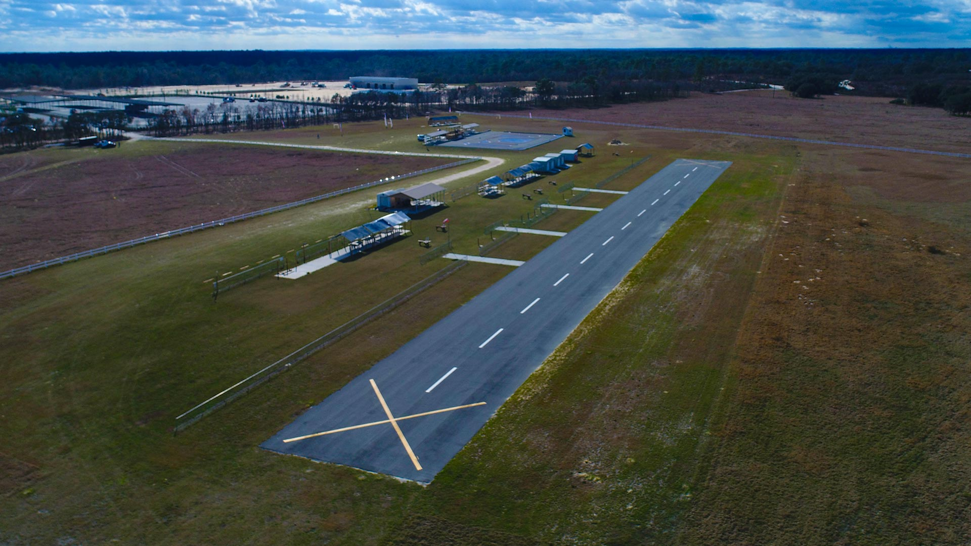 RC Airplane Flying Field at On Top of the World Communities Ocala FL retirment