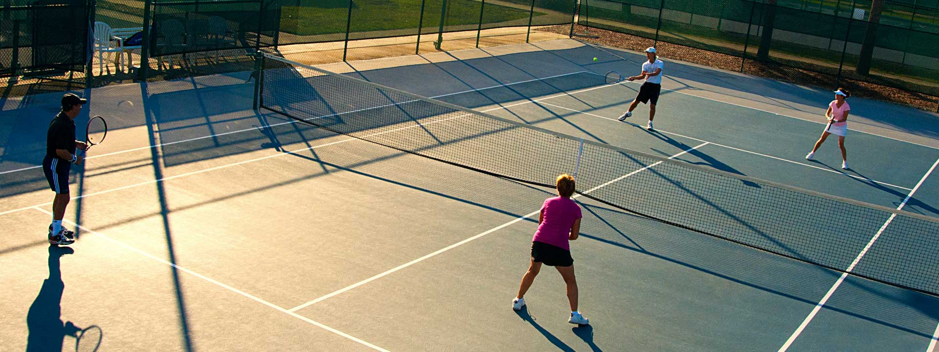 Tennis at On Top of the World Florida retirement Community