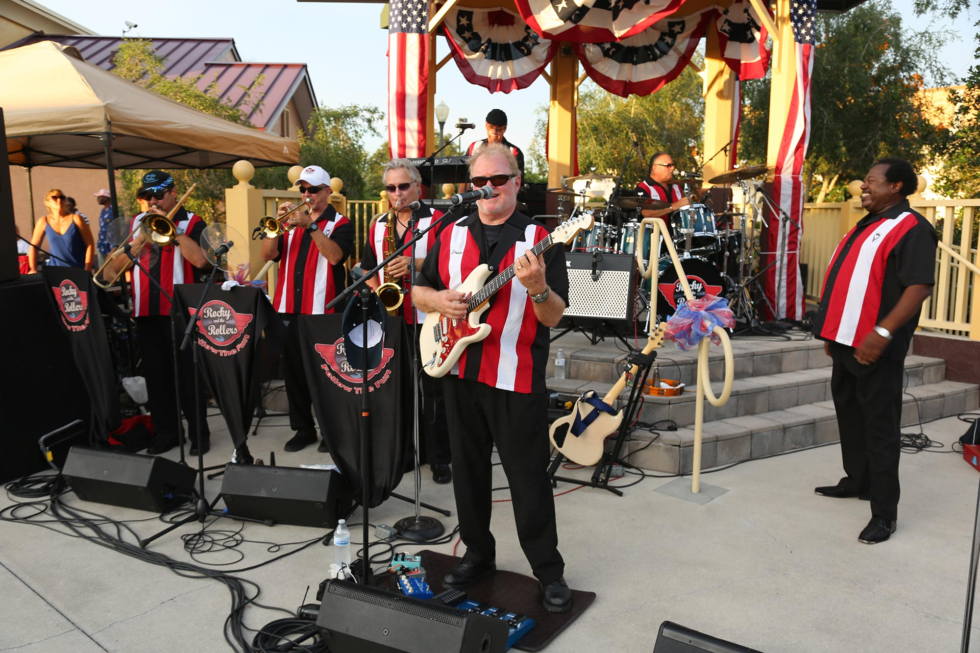 Live music on The Town Square at On Top of the World Communities