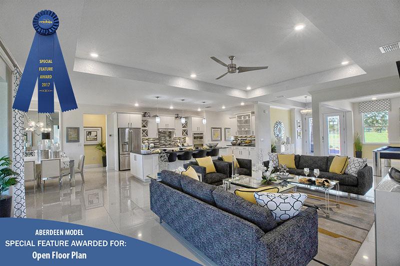 2017 Parade of Homes Award - Open Floor Plan