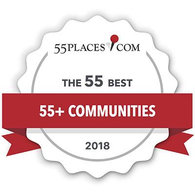 55Places.com The 55 Best 55+Communities for 2018