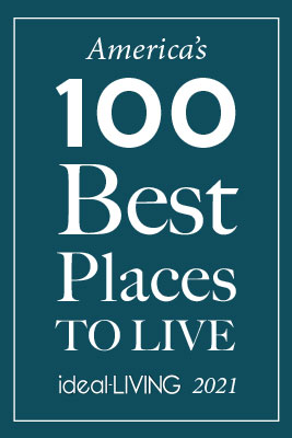 Ideal Livings Americas 100 Best places to live 2021