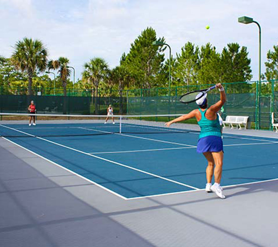 Tennis at On Top of the World Communities Ocala, FL